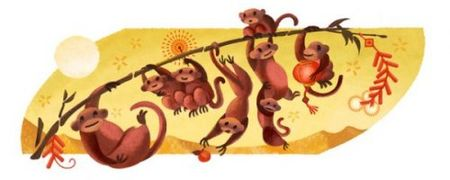Google chao don Tet Binh Than 2016 bang doodle moi - Anh 2