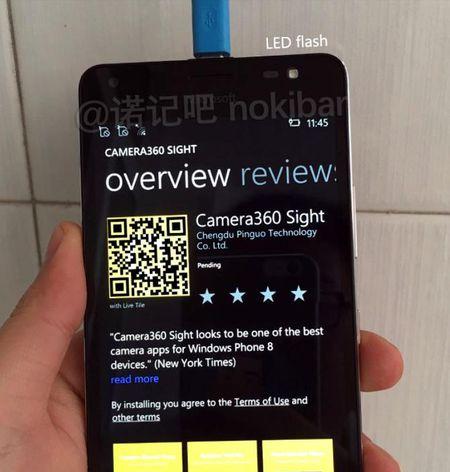 Lo anh bao chi Lumia 650 va 650 XL khung kim loai - Anh 10