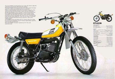 Yamaha hoi sinh dong san pham DT 400 - Anh 1