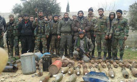 Luc luong Tiger danh chiem lang Tal Barlihiyah Dong Aleppo - Anh 1