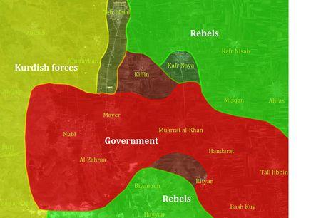 Dan quan nguoi Kurd va quan doi Syria phoi hop tan cong o Bac Aleppo - Anh 1