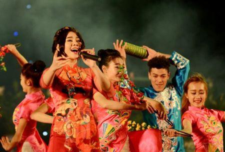 Thua Thien Hue: Co do Hue ruc sang trong dem Giao Thua - Anh 2