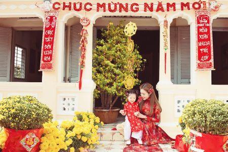 My nhan Viet 'xung xinh' ao dai don Tet - Anh 14