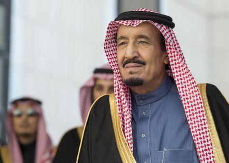 Quoc vuong Saudi Arabia yeu cau nuoc khac khong can thiep noi bo - Anh 1