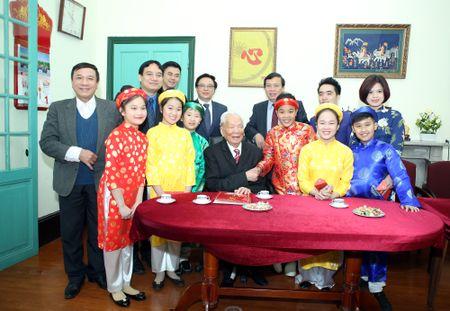 Doan dai bieu T.U Doan chuc Tet nguyen lanh dao Dang va Nha nuoc - Anh 3