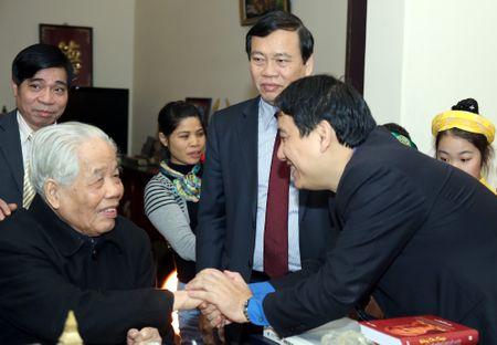 Doan dai bieu T.U Doan chuc Tet nguyen lanh dao Dang va Nha nuoc - Anh 5