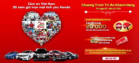 Honda O to Viet Nam tri an khach hang nhan ky niem 10 nam thanh lap. - Anh 1