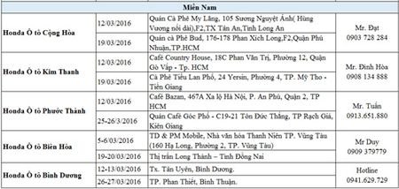 Honda O to Viet Nam tri an khach hang nhan ky niem 10 nam thanh lap. - Anh 4