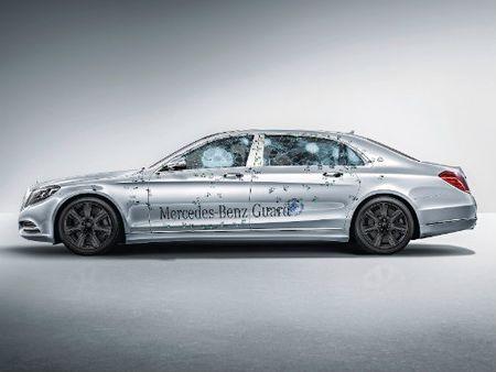 Mercedes-Maybach S600 Guard len cap chong dan, gia hon 11 ty dong - Anh 1