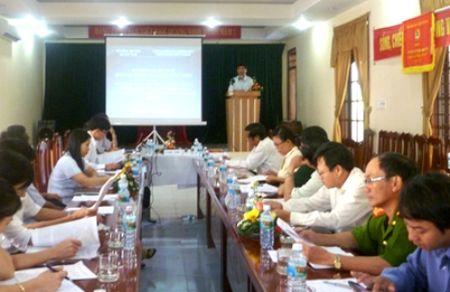 Quang Ngai: Tang cuong kiem tra khai thac khoang san - Anh 8