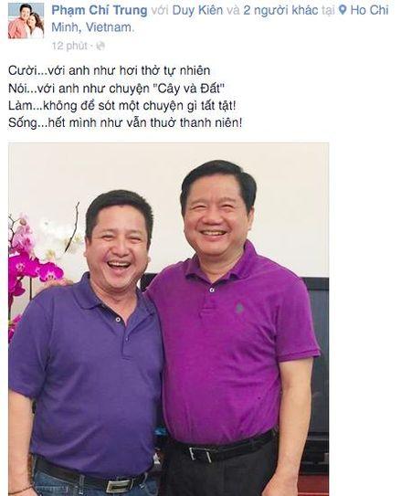 Chi Trung 'xuat khau thanh tho' khi hoi ngo ban than Dinh La Thang - Anh 1