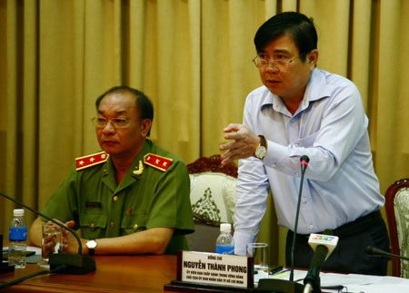 Chu tich TP HCM: Dung y lai phong chong toi pham la rieng cua nganh cong an - Anh 1