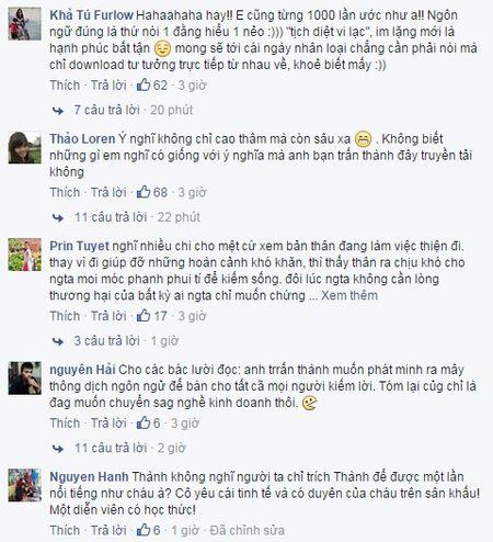 MC Tran Thanh 'cau gat' voi Hari Won vi... khong hieu chuyen? - Anh 2