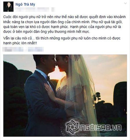 A hau Tra My he lo guong mat chong sap cuoi hon 13 tuoi - Anh 1