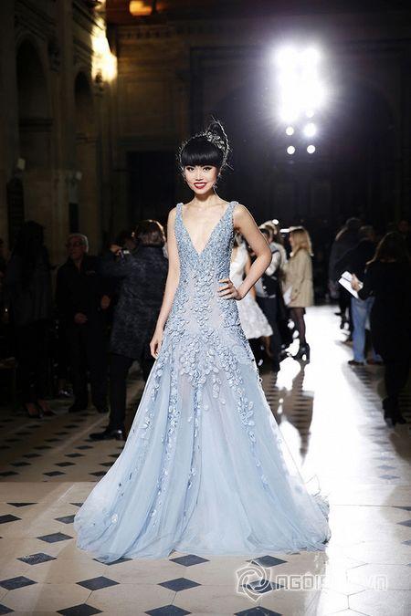 Jessica Minh Anh ngoi hang VIP tai Paris Fashion Week - Anh 11