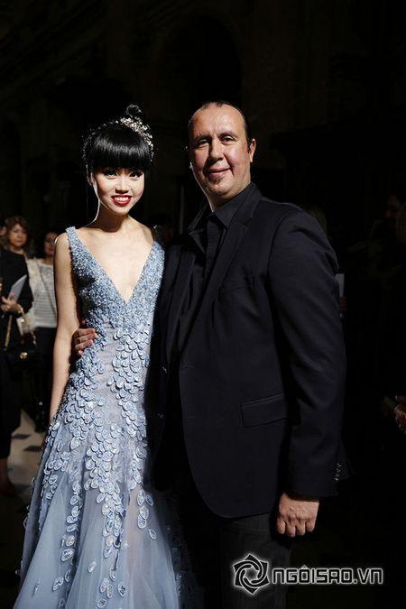 Jessica Minh Anh ngoi hang VIP tai Paris Fashion Week - Anh 7