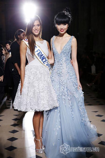 Jessica Minh Anh ngoi hang VIP tai Paris Fashion Week - Anh 9