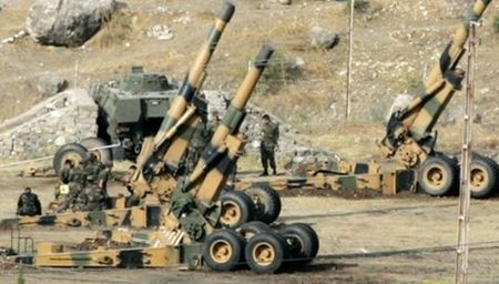 Ban tin 8H: Tho Nhi Ky na phao vao lanh tho Syria - Anh 1