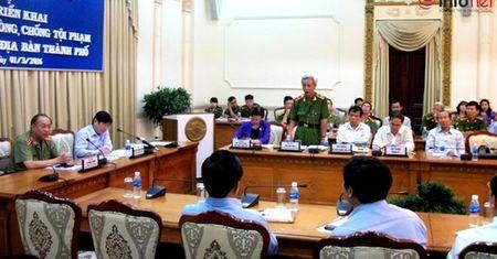 Chu tich TP. HCM: Phong chong toi pham khong phai viec rieng cua cong an! - Anh 1