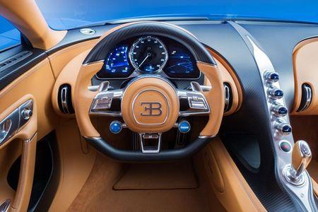 Bugatti Chiron - dong co W16, 1.500 ma luc, 500km/h, 2,7 trieu USD - Anh 15