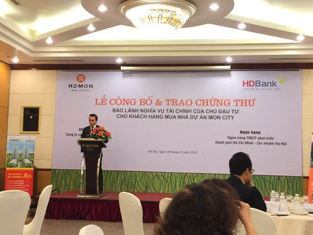 HD Bank chinh thuc bao lanh nghia vu tai chinh cho du an Mon City - Anh 2