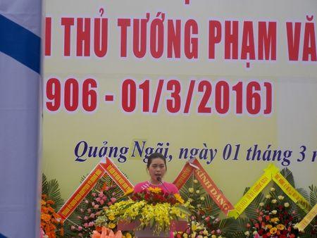 Quang Ngai: Ky niem 110 nam ngay sinh co Thu tuong Pham Van Dong - Anh 2