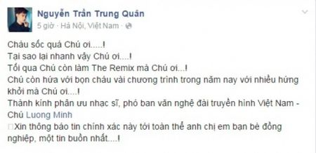 Nghe si Viet tiec thuong nhac si Luong Minh - Anh 1