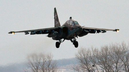 Roi may bay Su-25 cua Nga - Anh 1