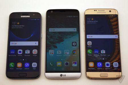 Vi sao chuan sac nhanh Galaxy S7 va LG G5 khac nhau? - Anh 1
