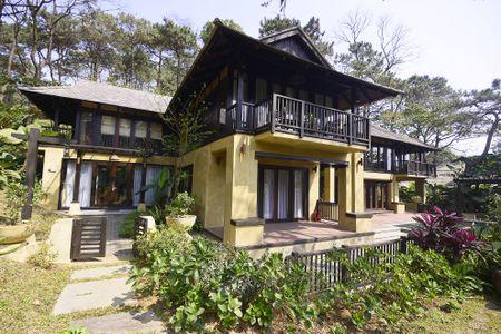 Toan canh resort hoanh trang khong phep o Ba Vi - Anh 6