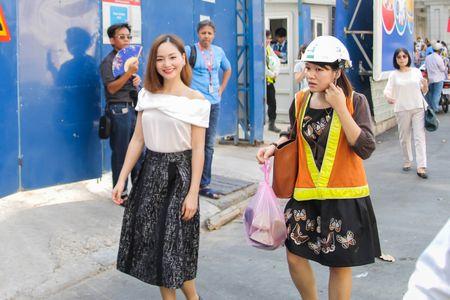 Lan Phuong tham du an tau dien ngam dau tien cua Viet Nam - Anh 1