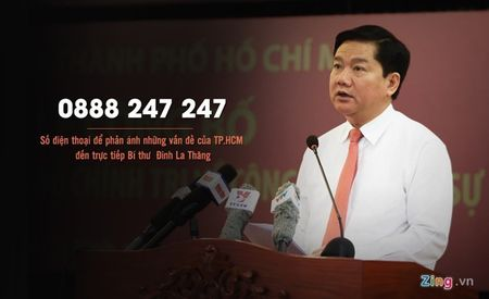 Hotline Bi thu Thang va cau chuyen dan nguyen - Anh 1