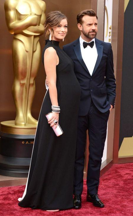 Thoi trang bau tinh te tren tham do Oscar - Anh 3