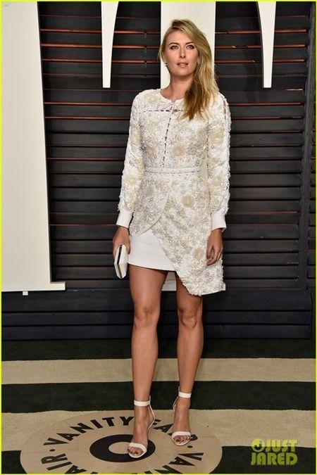 Maria Sharapova khuay dao bua tiec Oscar - Anh 1