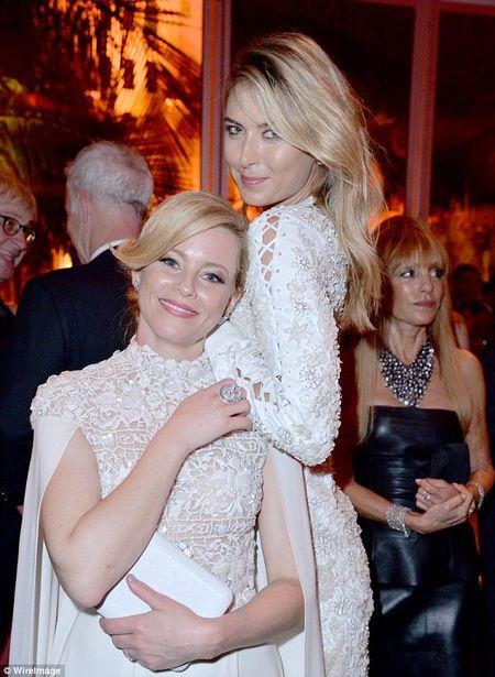 Maria Sharapova khuay dao bua tiec Oscar - Anh 5