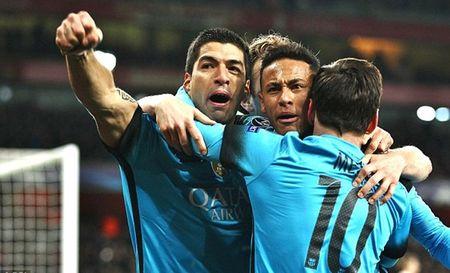 Suarez: 'Toi muon co cai chan trai cua Messi va toc do cua Neymar' - Anh 1