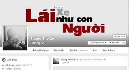 Cong dong mang dong loat doi anh bia 'Lai xe nhu con nguoi' - Anh 2