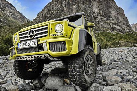 "Mercedes ra mat xe dia hinh ""sieu khung"" G550 4x4² - Anh 2"