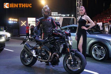 """Chan dai """"dot chay"""" xe sang Audi va moto khung Ducati - Anh 12"""