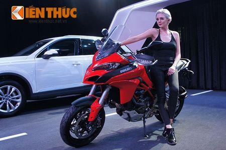 """Chan dai """"dot chay"""" xe sang Audi va moto khung Ducati - Anh 2"""