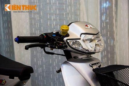 """""""Xe co"""" Honda Wave 100 do phu kien khung tai VN - Anh 3"""