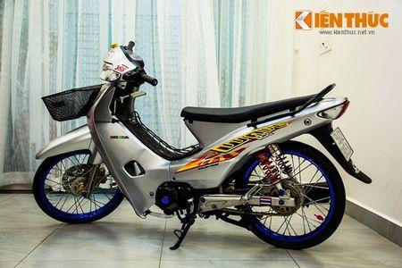 """""""Xe co"""" Honda Wave 100 do phu kien khung tai VN - Anh 9"""