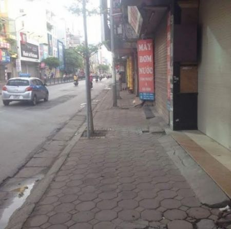 Phuong Quang Trung (quan Dong Da): Chuyen bien tich cuc bo mat do thi - Anh 1