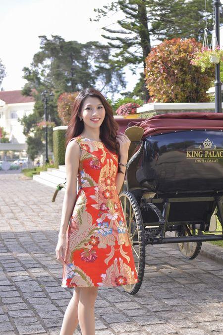 Nguoi dep HHHV Viet Nam tham du le ruoc tuong vua Bao Dai, Hoang hau Nam Phuong - Anh 8