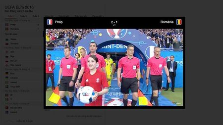 Lich dau va ket qua Euro 2016 ngay tren Google - Anh 2