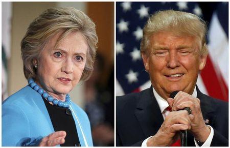Donald Trump bi cao buoc lua dao, ba Clinton chiem the thuong phong - Anh 1