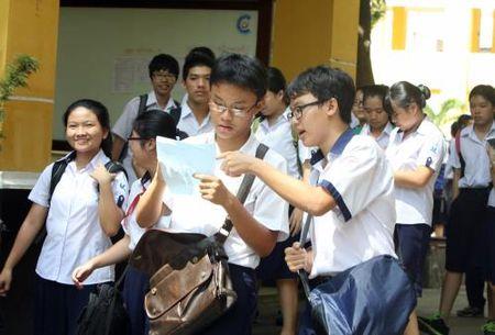 Ky thi tuyen sinh vao lop 10 tai Tp.Ho Chi Minh: De thi co tinh phan loai cao - Anh 1