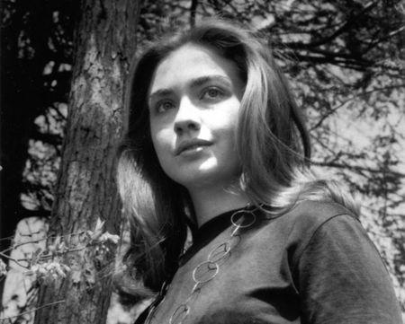 Bo anh Hillary Clinton nhung nam thang nu sinh trung hoc - Anh 1