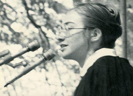 Bo anh Hillary Clinton nhung nam thang nu sinh trung hoc - Anh 6