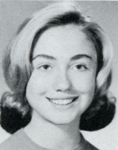 Bo anh Hillary Clinton nhung nam thang nu sinh trung hoc - Anh 7